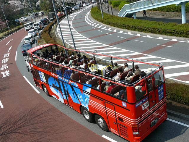 水戸市内観光周遊スカイバス