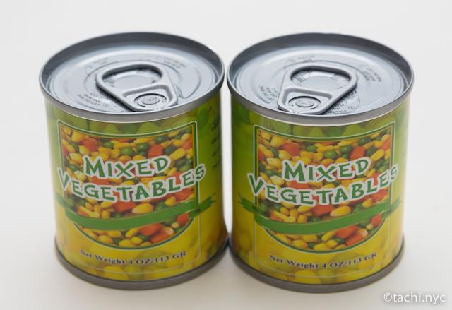 ミックスベジタブル缶詰