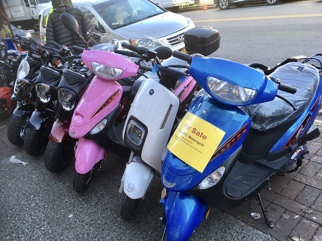 NYCクイーンズ区 バイク屋1
