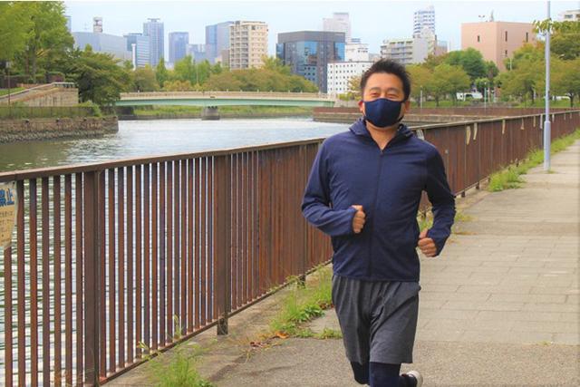メガネの曇りを軽減するよう改良された、新しいマスク「エコマス・プラス」