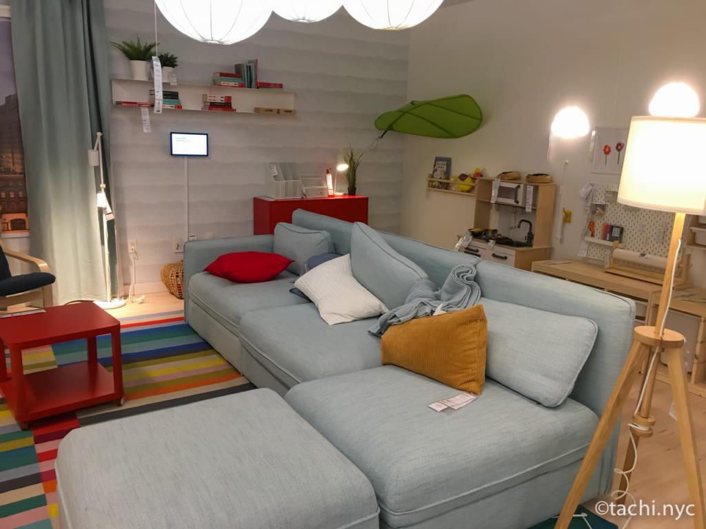 NYC IKEAのインテリア・コーディネート(リビングあるいは単身者アパートメント用)
