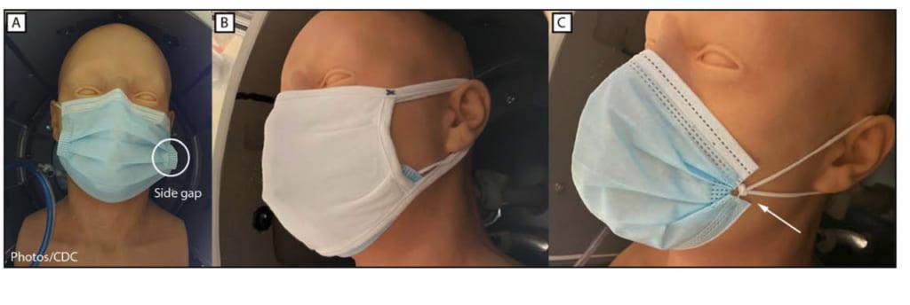 CDCマスク研究実験