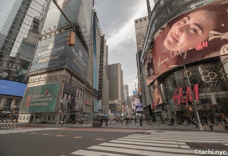2020年5月2日 タイムズスクエア