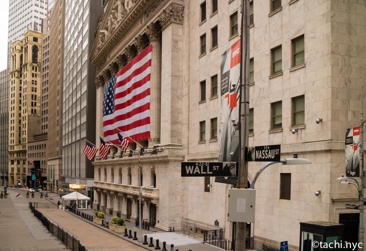 2020年5月2日 ウォール街