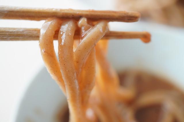 中華蕎麦 とみ田 つけめん麺