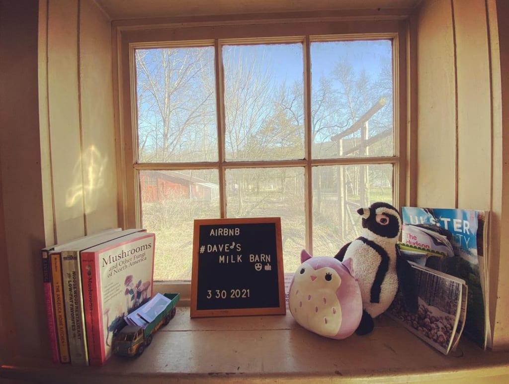 Dave's Milk Barn 窓
