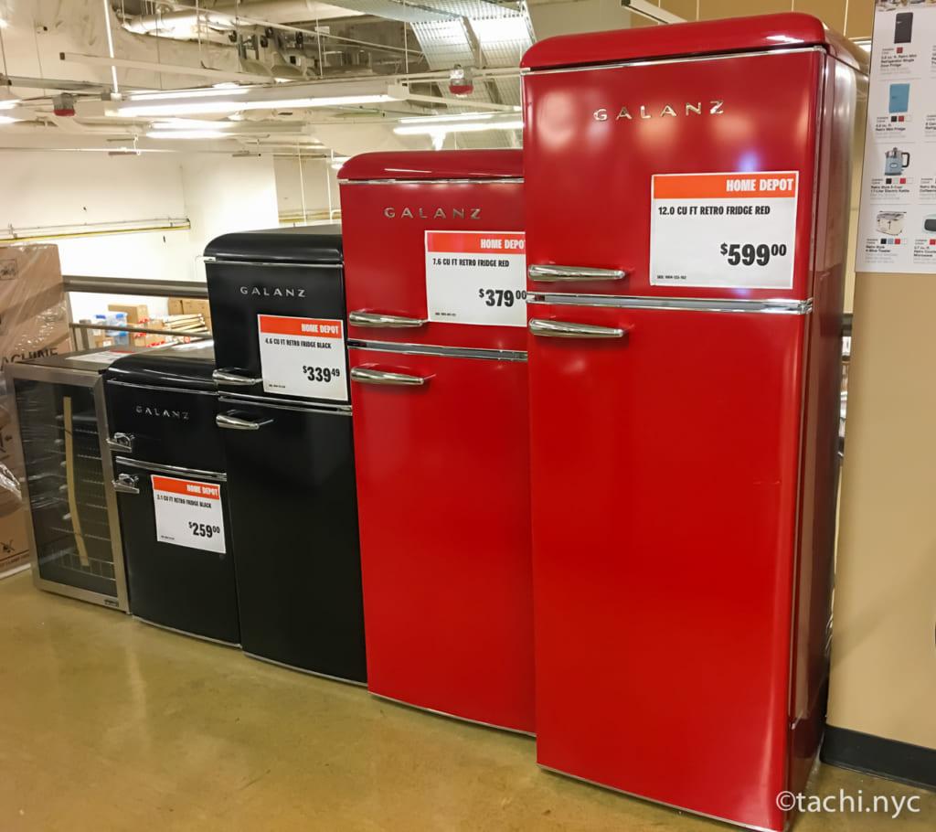 ホームデポ 家電 冷蔵庫