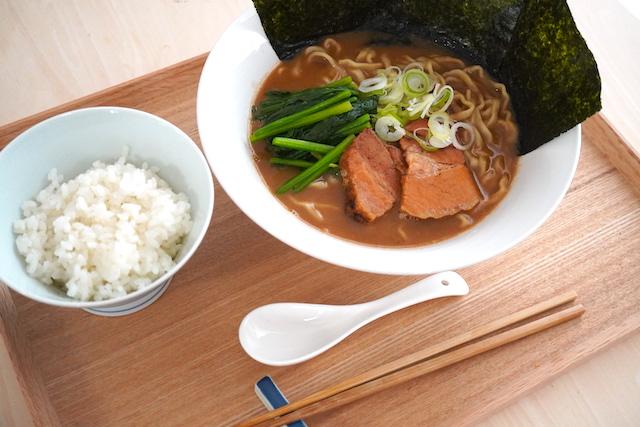 濃厚豚骨醤油ラーメン(TOKYO-X)