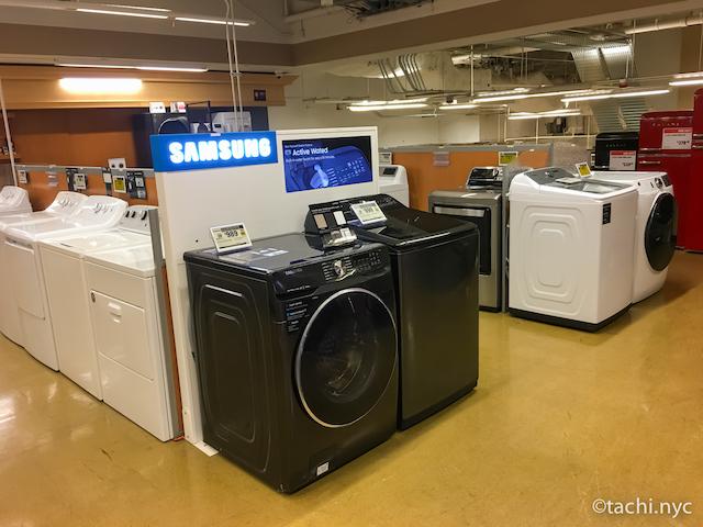 ホームデポ 洗濯機