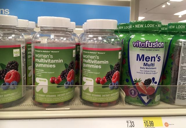 ビタミン剤(グミ)男性用・女性用