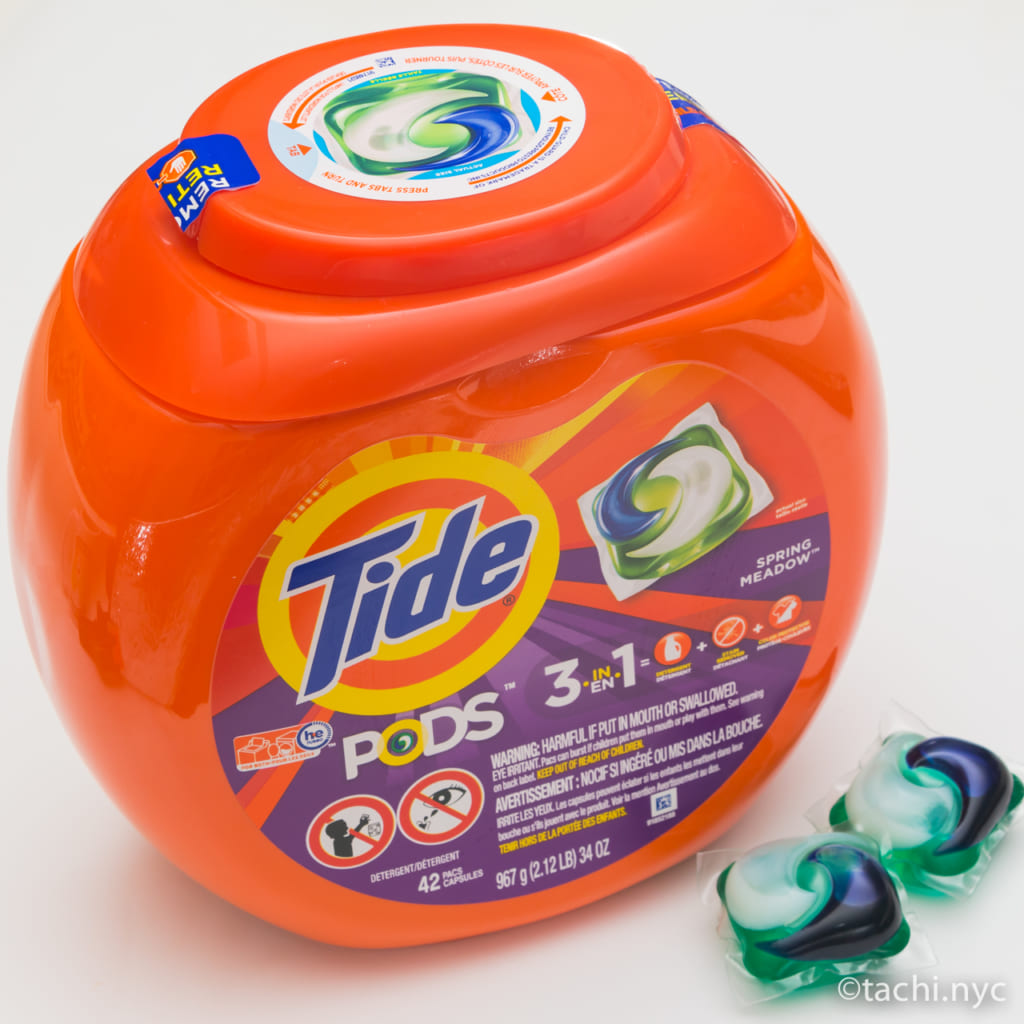 洗濯洗剤 Tide Pods