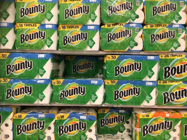 ペーパータオル Bounty