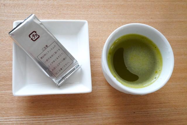 羊羹と緑茶