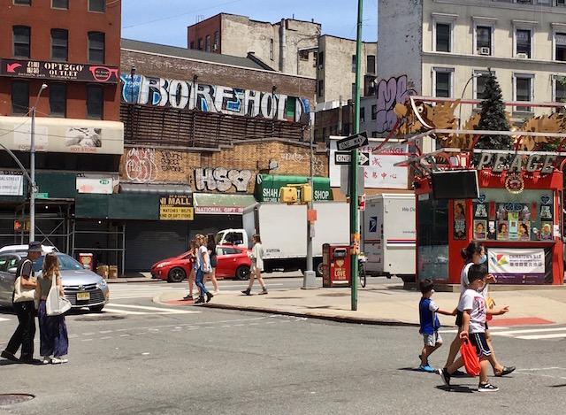 NYC マンハッタン チャイナタウン 2021年6月25日