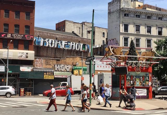 NYC マンハッタン チャイナタウン 観光案内所 2021年6月25日