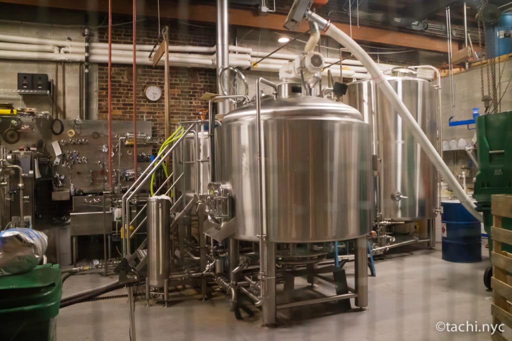 LIC   Fifth Hammer Brewing ビールタンク