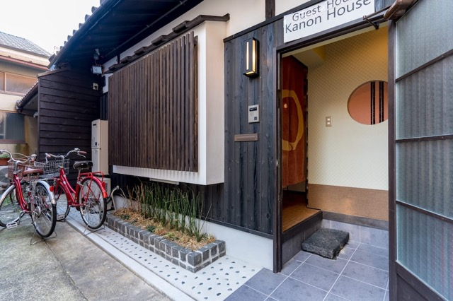 タイニーハウス、京都、町家、Airbnb