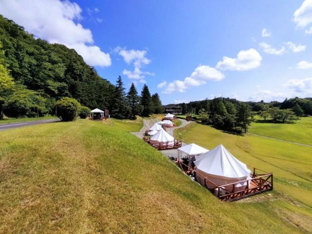 泊まれるゴルフ場ハワイアンズグランピングマウナヴィレッジ