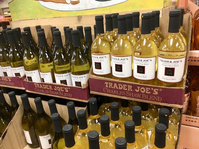 2021年7月 NYCトレーダージョーズ ワインショップ 2.99ドルワイン