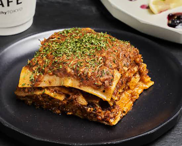HealthyTOKYO Vegan SHOP & CAFE 代官山店 ヴィーガンラザニア