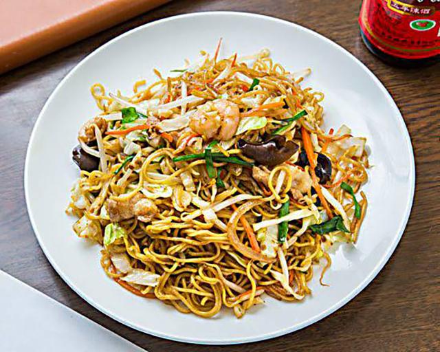 王さんの菜館 上海風焼きそば