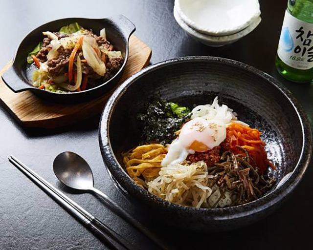 韓国料理 スンチャン ビビンパ・プルコギセット