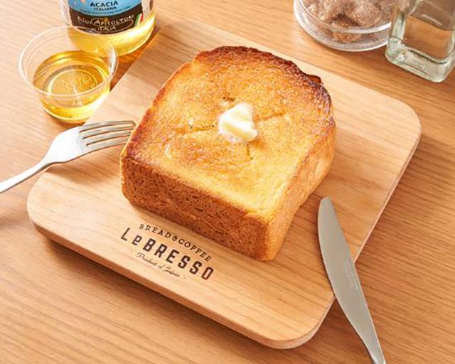 レブレッソ 目黒武蔵小山店 厚切りバタートースト